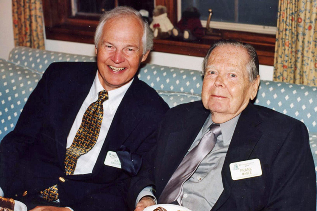 Karl Baughman and Frank Magee